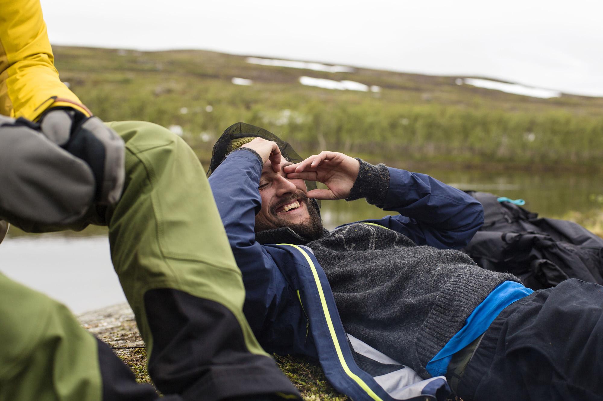 Latter og læring. Foto: Åsmund Indrebø Næs
