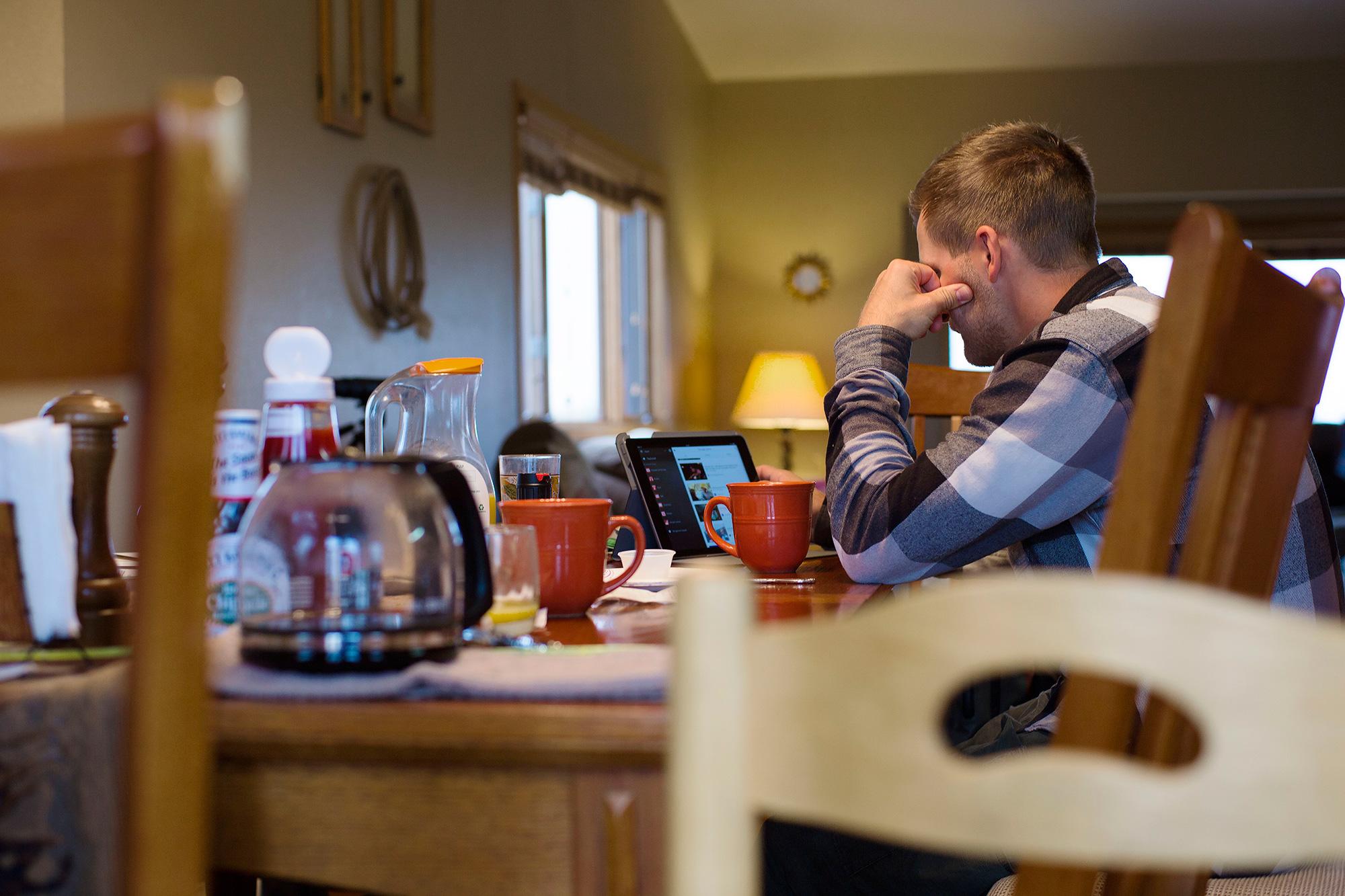 Magnor prøvde seg frem med digitale hjelpemidler. Foto: Åsmund Indrebø Næs